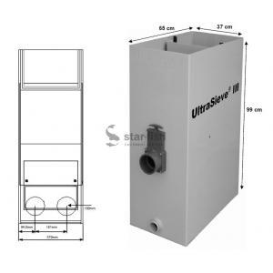 AquaForte Ultra Sieve III Standard se 3 vstupy 110mm