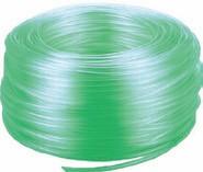 Vzduchovací PVC hadička 9x12mm zelená