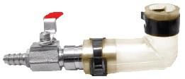 Vzduchovací ventil jednocestný s 90° kolenem