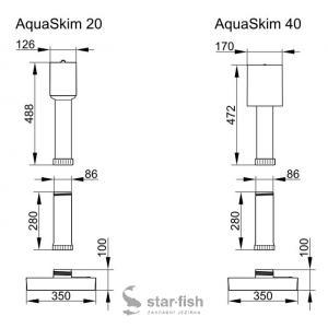 Náhradní plovák Oase AquaSkim 20