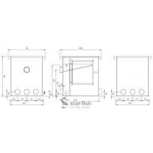 Filtreco Drum Filter 35 - čerpadlové zapojení
