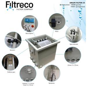 Filtreco Drum Filter 35 - gravitační zapojení