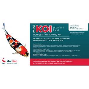 KOI Premium Food Mini 15 kg, výrobce: STAR-FISH