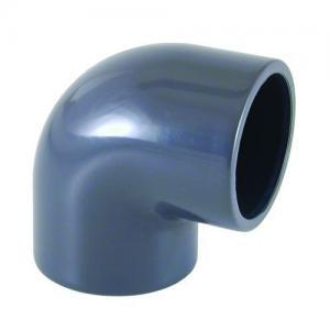 PVC koleno 90°, ø 40 mm, připojení lepení x lepení