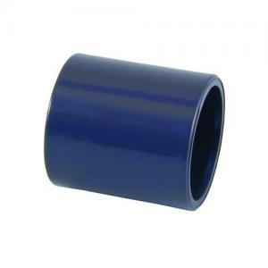 PVC mufna, ø 40 mm, připojení lepení x lepení