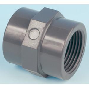 PVC přechodový nipl, ø 50 mm, připojení lepení x 1 1/4