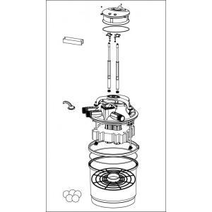 Sicce Green Reset 100l tlakový filtr s UVC 2x 25W