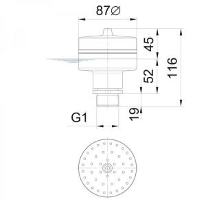 Fontánová tryska Oase Vulcan 43 - 3 K