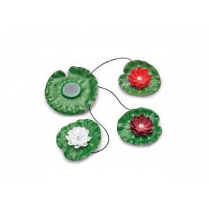 Pontec PondoSolar Lily LED set 3 - svítící lekníny