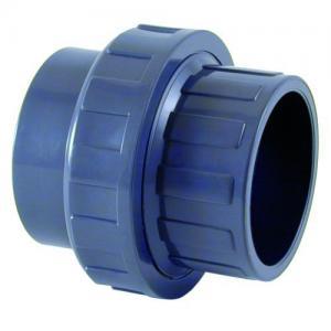 PVC šroubení, ø 25 mm, připojení lepení x lepení