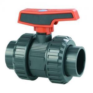 PVC kulový ventil, ø 20 mm, připojení lepení x lepení