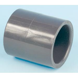 PVC mufna, ø 50 mm, připojení lepení x lepení