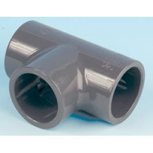 PVC T - kus 90°, ø 63 mm, připojení lepení x lepení