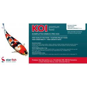 KOI Premium Food 5 kg, výrobce: STAR-FISH