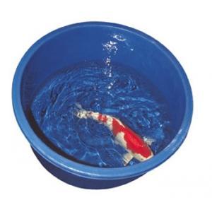 Inspekční nádoba modrá kulatá 72x33cm